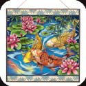 Art Panel-APM111R-Koi Pond - Koi Pond