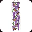 Art Panel-APM419R-Wings & Wisteria - Wings & Wisteria