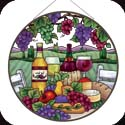Art Panel-APM504R-Wine & Cheese - Wine & Cheese