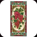 Art Panel-APM609R-Red Grapes - Red Grapes