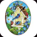 Art Panel-APM810R-Birdhouse - Birdhouse
