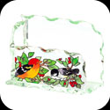 Business Card Holder-BCH1001-Birds of a Feather - Birds of a Feather