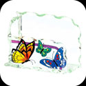 Business Card Holder-BCH1002-Butterflies - Butterflies