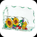 Business Card Holder-BCH1015-Sunflowers - Sunflowers