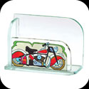 Business Card Holder-BCH2007-Classic Motorcycle - Classic Motorcycle