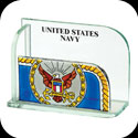Business Card Holder-BCH2014-Navy/UNITED STATES NAVY - Navy/UNITED STATES NAVY