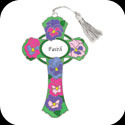 Bkmk/Magnt-BMM1005-Pansies/Faith - Pansies/Faith