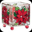 Candleware-CCM3001-Poinsettias - Poinsettias