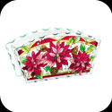 Candleware-CG1010R-Poinsettias - Poinsettias