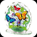 Candleware-CP1014R-Butterfly Garden/Rejoice... - Butterfly Garden/Rejoice in the Lord always. Phil. 4:4