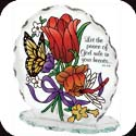 Candleware-CP1027R-Jewel Bouquet/Let the peace of God... - Jewel Bouquet/Let the peace of God rule in your heart.  Col. 3:15