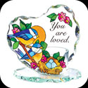Candleware-CP2007R-Nesting Birds/You are loved. - Nesting Birds/You are loved.