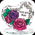 Candleware-CP2008R-Roses/I love you, Mom - Roses/I love you, Mom