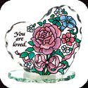 Candleware-CP2020R-Pink Petals/You are loved - Pink Petals/You are loved