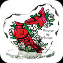 Candleware-CP2021R-Cardinals/Forever & Always - 2 Cardinals/Forever & Always