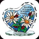 Candleware-CP2027-Daisies & Ladybugs/You will g - Daisies & Ladybugs/You will g