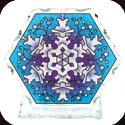 Candelware-CP2043R-Snowflake - Snowflake