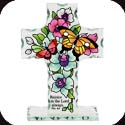 Candleware-CP3015R-Butterfly Garden/Rejoice in the Lord Always - Butterfly Garden/Rejoice in the Lord Always