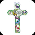 Cross-GX242-Butterfly Garden/Rejoice in the Lord Always. Phil. 4:4 - Butterfly Garden/Rejoice in the Lord Always. Phil. 4:4
