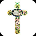 Cross-GX244-Dogwood/For God so loved the world... - Dogwood/For God so loved the world, that He gave His only begotten Son. Jn. 3:16