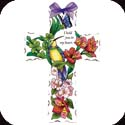 Crosses-GX4001R-Hummingbird/Lilies//I hold you - Hummingbird/Lilies//I hold you