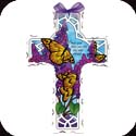 Crosses-GX4008R-Butterfly Bush//May God bless - Butterfly Bush//May God bless