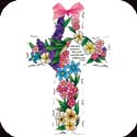 Crosses-GX4010R-Spring Floral//Cast your cares - Spring Floral//Cast your cares