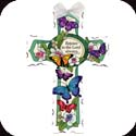Cross-GX4022-Butterfly Garden/Rejoice in the Lord always. Phil. 4:4 - Butterfly Garden/Rejoice in the Lord always. Phil. 4:4