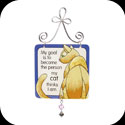 Suncatcher-JSW006-Cat Person/My goal is to become... - Cat Person/My goal is to become the person my cat thinks I am