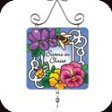 Suncatcher-JSW042R-Pansies//Sisters in Christ - Pansies//Sisters in Christ