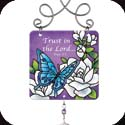 Suncatcher-JSW196R-Gardenias//Trust in the Lord... - Gardenias//Trust in the Lord? Prov. 3:5