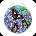 Suncatcher-LC041-Wings & Wisteria - Wings & Wisteria