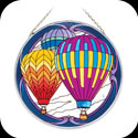 Suncatcher-LC082-Hot Air Balloons - Hot Air Balloons