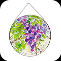 Suncatcher-LC209-Grape Arbor - Grape Arbor