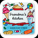 Magnet-LMG175-Grandma's Kitchen/Grandma's kitchen KIDS EAT FREE - Grandma's Kitchen/Grandma's kitchen KIDS EAT FREE