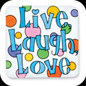 Magnet-LMG217-Live Laugh Love/Live, Laugh, Love - Live Laugh Love/Live, Laugh, Love