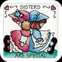 Magnet-LMG231-Two Girls/SISTERS ARE SPECIAL - Two Girls/SISTERS ARE SPECIAL