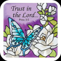 Large Magnet-LMG301-Gardenias//Trust in the Lord.. - Gardenias//Trust in the Lord..