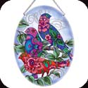 Suncatcher-LO066R-Patterned Birds - Patterned Birds