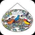 Suncatcher-LO075-Birds of a Feather/Of all God's gifts, both... - Birds of a Feather/Of all God's gifts, both great and small, friendship is the best of all.