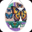 Suncatcher-LO111R-Butterfly Collage  - Butterfly Collage