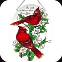 Suncatcher-LO231R-Cardinals//Be still and know t - Cardinals//Be still and know t
