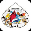 Suncatcher-LO237-Birds on a Wire//...but as for - Birds on a Wire//...but as for