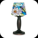 Lampshade-LSM432-Dragonfly/Waterlilies - Dragonfly/Waterlilies
