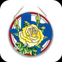 Suncatcher-MC146-Yellow Rose of Texas - Yellow Rose of Texas