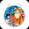 Suncatcher-MC149-Garden Cats - Garden Cats