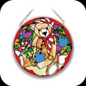 Suncatcher-MC157-Christmas Teddy - Christmas Teddy