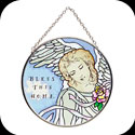 Suncatcher-MC161-Angels of Heaven/BLESS THIS HOME - Angels of Heaven/BLESS THIS HOME