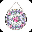 Suncatcher-MC172-Floral/MOM you are loved - Floral/MOM you are loved