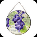 Suncatcher-MC177-Vineyard/I am the vine...  - Vineyard/I am the vine; you are the branches. Jn. 15:5